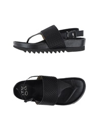 Gx By Gwen Stefani Thong Sandals Black