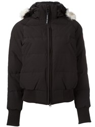 Canada Goose 'Ladies Savona' Bomber Jacket Black