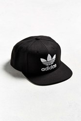 Adidas Originals Trefoil Chain Snapback Hat Black