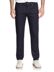 7 For All Mankind Paxtyn Tapered Leg Jeans Dark Blue
