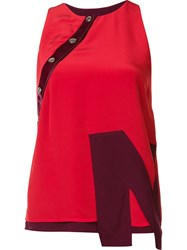 Nicopanda 'Nico' Tank Top Red