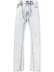 Y Project Straight Leg Jeans White
