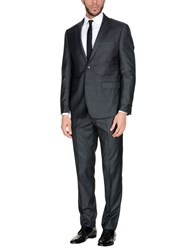 Domenico Tagliente Suits Steel Grey