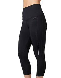 Jockey High Waisted Active Leggings Deep Black