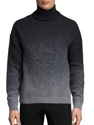 Plac Retro Spectrum Wool Blend Sweater Charcoal