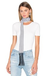 House Of Harlow X Revolve Ossie Scarf Black And White