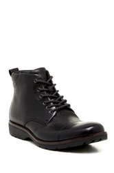 Rockport Cap Leather Boot Wide Width Available Black