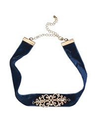 Jolie By Edward Spiers Necklaces Dark Blue