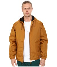 Brixton Claxton Jacket Copper Men's Coat Bronze