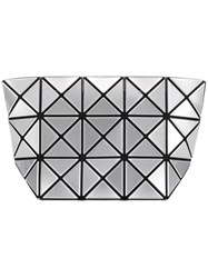 Issey Miyake Bao Bao Lucent Frost Make Up Bag Silver