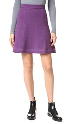 Carven Skirt Purple