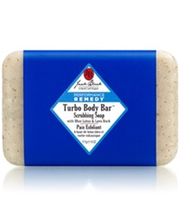 Jack Black Turbo Body Bar Scrubbing Soap With Blue Lotus And Lava Rock 6 Oz