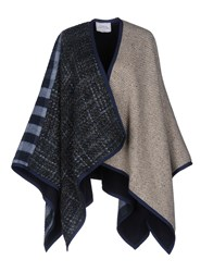 Forte Couture Capes And Ponchos Dark Blue