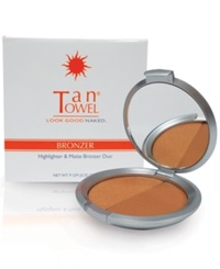 Tantowel Bronzer Duo For Face Lighter Powder