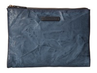 Frye Michelle Tech Clutch Blue Antique Soft Vintage Clutch Handbags