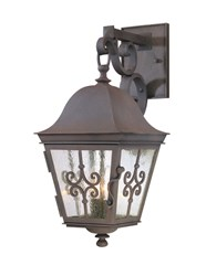 Troy Lighting Markham Outdoor Wall Light Brown