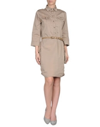 La Fee Maraboutee Short Dresses Light Brown
