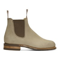 R.M. Williams Grey Comfort Turnout Chelsea Boots