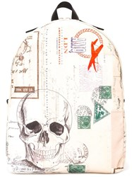 Alexander Mcqueen Letters From India Backpack