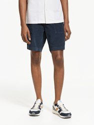 John Lewis And Co. Fremont Cord Shorts Navy