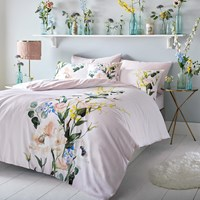 Ted Baker Elegant Duvet Cover Blush Multi Pink