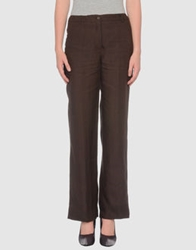 Alex Vidal Casual Pants Dark Brown