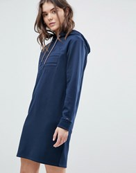 Tommy Jeans Hoodie Dress Navy