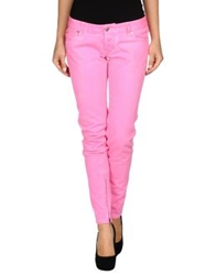 Dsquared2 Denim Pants Fuchsia