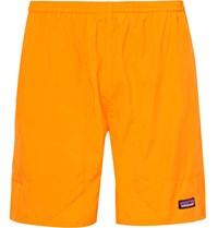 Patagonia Baggies Lights Dwr Coated Ripstop Shorts Saffron