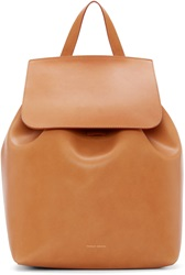 Mansur Gavriel Tan Leather Backpack