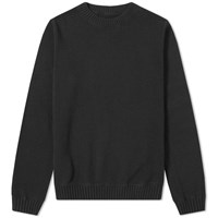 Mhl By Margaret Howell Mhl. Army Crew Sweat Black