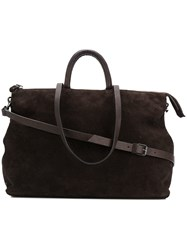 Marsell 4 In Orizzontale 0219 Tote Bag Brown