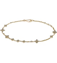 Annoushka Frost 14Ct Yellow Gold And Sapphire Bracelet