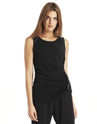 Kenneth Cole Amaya Knit Top Black