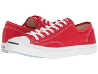 Converse Jack Purcell Jack Canvas Ox Casino White White Classic Shoes Red