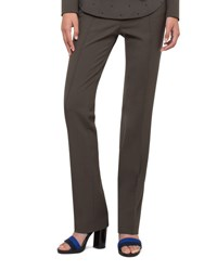 Akris Punto Francoise Techno Stretch Pants Olive