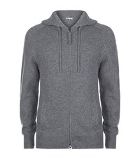 Helmut Lang Cashmere Zip Hooded Sweater Male