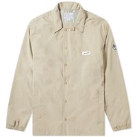 Nanamica Coach Jacket Brown