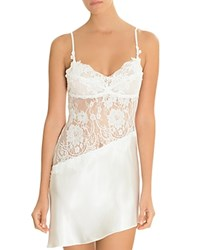 Jonquil Satin And Lace Chemise Ivory