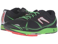 Newton Running Motion V Black Green Men's Shoes