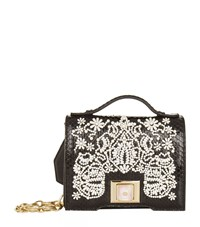 Andrew Gn Mini Embellished Brief Cross Body Bag Black