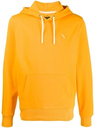 Saturdays Surf Nyc Drawstring Hoodie Orange