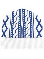 Opening Ceremony Beanie White