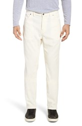Eidos Napoli Q Cord Trousers Natural