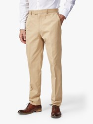 Chester Barrie By Cotton Chinos Natural