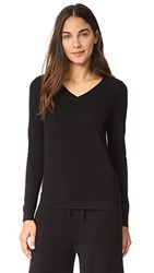 Bop Basics V Neck Cashmere Sweater Black