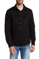 Threads For Thought Richter Quilted Shirt Black