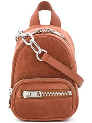 Alexander Wang Mini Attica Backpack Brown