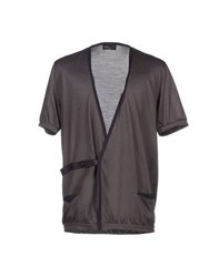 Kolor Knitwear Cardigans Men Dove Grey