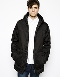 Vito Jacket With Hood Black